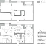 план квартиры, план расстановки мебели